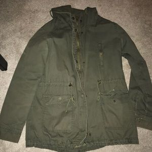 Army green jacket! Perfect for any season